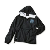 Womens Classic Pullover Windbreaker Jacket Monogrammed