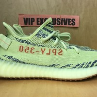 ADIDAS YEEZY BOOST 350 V2 SEMI-FROZEN YELLOW B37572 SPLY - MOST TRUSTED SELLER!