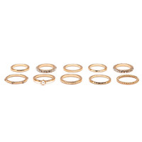 Classic Band Ring Set