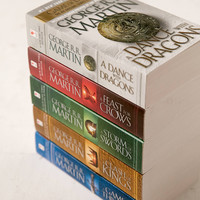 Game Of Thones 5-Book Box Set By George R.R. Martin   Urban Outfitters
