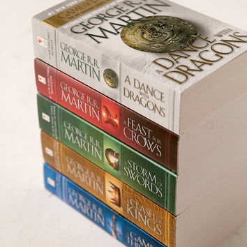Game Of Thones 5-Book Box Set By George R.R. Martin | Urban Outfitters
