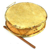 Medium Double-faced Tinya Drum - Jamtown World Instruments