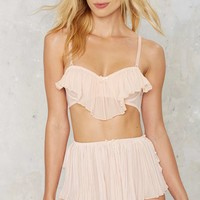 Nasty Gal Sweet Nothings Tap Short Panty