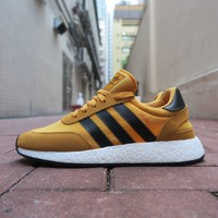 BC SPBEST adidas I-5923(Iniki Runner Boost) - Tactile Yellow/Core Black/Footwear White #BY9733