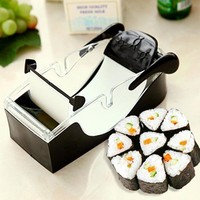 Lekoch 1 Pcs Roll Sushi Maker Machine Cutter Roller DIY Original Roll Tool Plastic Sushi Molds Cooking Tools Kitchen Accessories