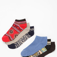 Painted Desert No-Show Sock - Pack of 6