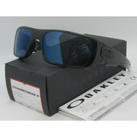 Oakley Crankshaft Sunglasses OO9239-2660 Shiny Black Trans Ice Iridium Lens 60mm