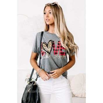 Love Like Jesus Graphic Tee