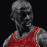 Michael Jordan (Quotes and Accomplishments) Poster