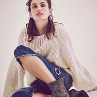 Faryl Robin + Free People Womens Spring Valley Ankle Boot