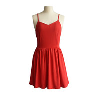 2016 Summer Backless Dress Woman Straps Cross Back Design Short Mini Beach Dresses