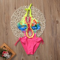 One-piece Mermaid Kids Girl Swimsuit Toddler Little Girls Swimming Suit Bathing Suits Swimsuits Swimwear Beachwear Swimmer