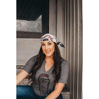 GINA Willie Nelson Face Tee