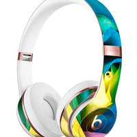 Rainbow Dyed Rose V1 Full-Body Skin Kit for the Beats by Dre Solo 3 Wireless Headphones