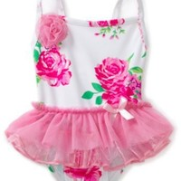 Flapdoodles Baby Girls' Tutu Pretty One Piece Suit