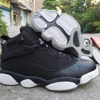 Air Jordan 6 Rings Black