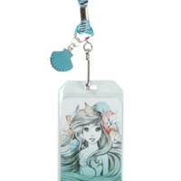 Disney The Little Mermaid Ariel Sketch Lanyard