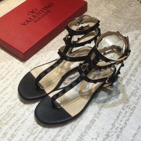 Valentino Women Fashion Casual Sandals Shoes-3