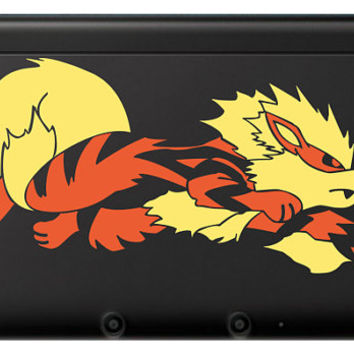 Arcanine 3DS OR 3DS XL Decal, Choose size and 2 Colors