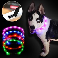 Outdoor Dog Collars with led light - Free + Shipping