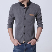 Men's New Tunic Blazer Jacket