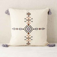 4040 Locust Samote Embellished Pillow