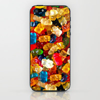 Gummy Bears iPhone & iPod Skin by Electric Avenue