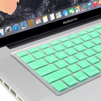 Silicon Keyboard Cover (US Layout) for 13 / 15 MacBook
