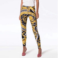 VERSACE Women Casual Print Pants