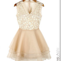 Black and white lace dress 2013 spring new [44]