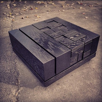 Abaci: Black Lacquer Coffee Table