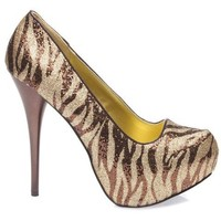 Qupid Women's NEUTRAL107 Round Toe Platform High Heel Stiletto Classic Pumps Shoes