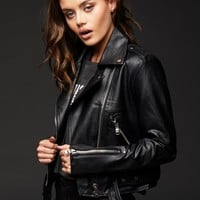 Hell Bent For Leather Moto Jacket