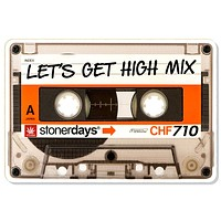 Let's Get High Mixed Tape Dab Mat