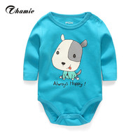 High Quality Stripe Round Collar Long Sleeves Bodysuit Baby Cheap Unisx Newborn Clothes