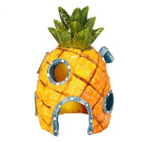 Fast Delivery Spongebob Squarepants Pineapple House Fish Tank Aquarium Ornament Home Fish Tank Underwater Decoration