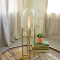 Table Lamp with Glass Dome - Small
