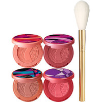 Sculpted Cheeks Deluxe Amazonian Clay Blush Set & Brush