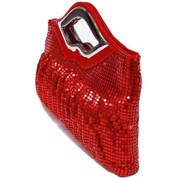New Luxury Paillette EveningBags High Quality Handmade Evening Cluth Bags in Sequin Beading Quilt Designer