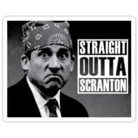 Prison Mike Straight Outta Scranton by chrissy42