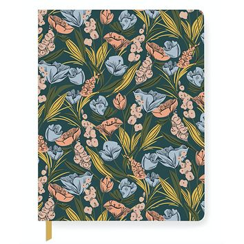 Moody Floral Journal