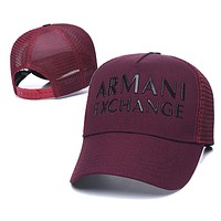 Armani Fashion Snapbacks Cap Women Men Armani Sports Sun Hat Baseball Cap Q_1481979175