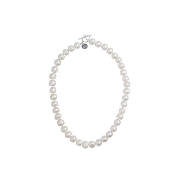 """18"""" Single Strand 13mm Baroque Fresh Water Pearl Necklace"""