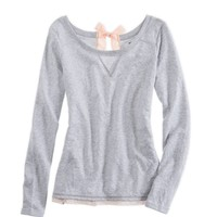 Aerie Bow-back Sweatshirt | Aerie for American Eagle