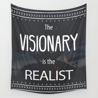 visionary Wall Tapestry by Urban Exclaim