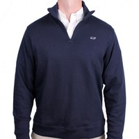 Limited Edition Jersey 1/4 Zip in Navy by Vineyard Vines