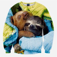 Cozy Sloth Men's Sweatshirt