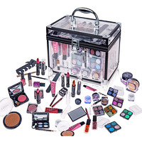 Carry All Trunk Makeup Case - Cosmetic Gift Set