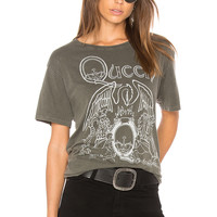 DAYDREAMER Queen Tee in Pigment Army   REVOLVE