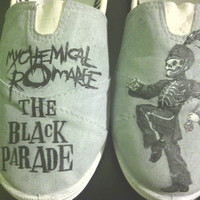 Custom Painted Shoes by LindseyRosesDesign on Etsy